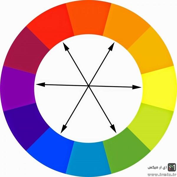 جدول ست رنگ لباس