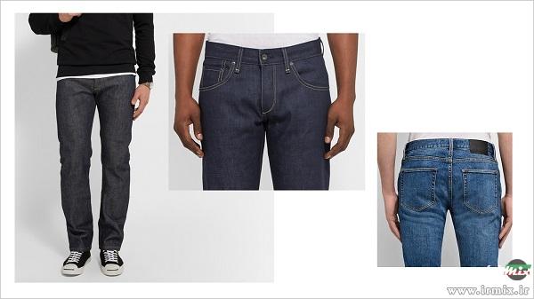 شلوار جین مناسب برای پاهای لاغر