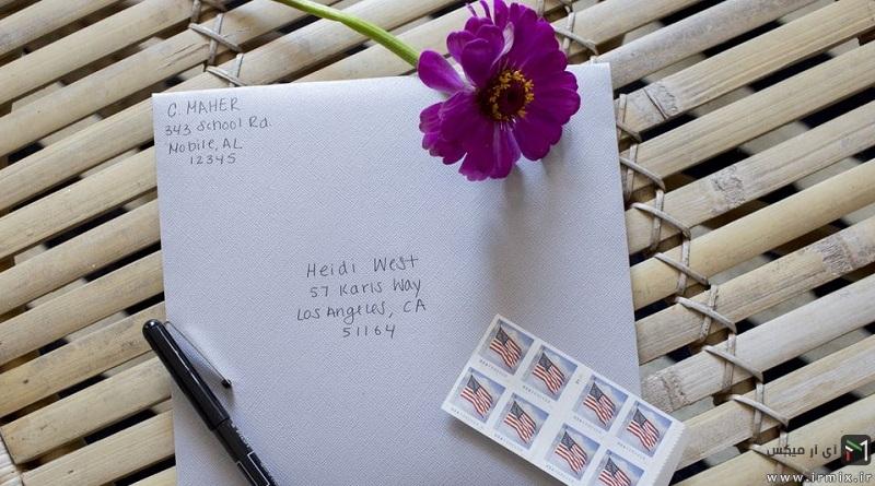 بهترین آموزش درست کردن پاکت نامه ساده و زیبا با کاغذ a4