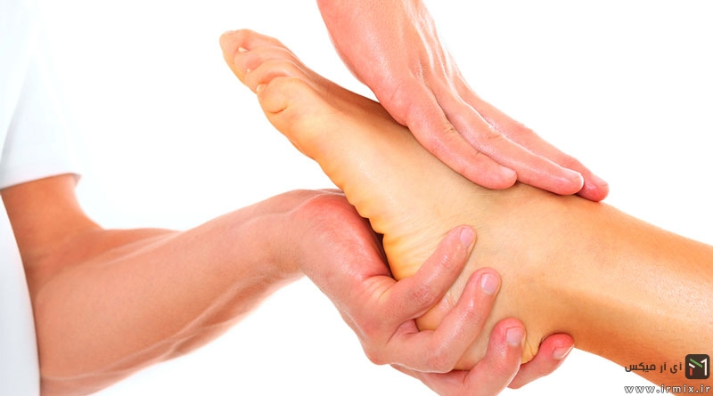 علت گرم شدن کف پا و دست ها