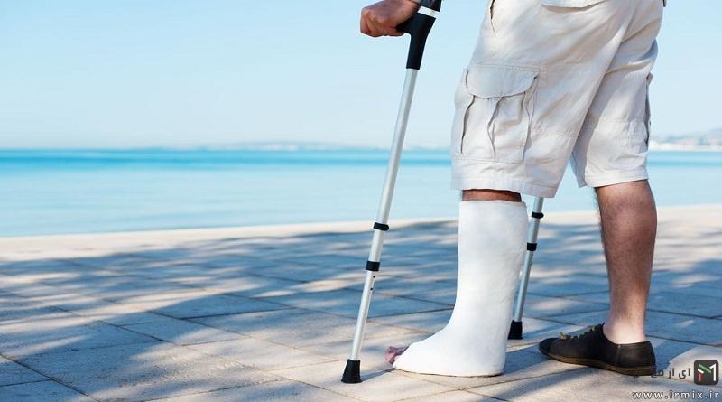 درمان گیاهی درمان ترک و شکستگی استخوان در طب سنتی با دارو و غذاهای مفید