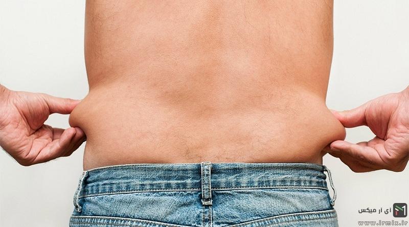 آموزش روشهای از بین بردن چربی دور شکم و پهلو در مردان و زنان