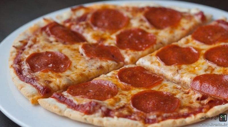 آموزش سریع پخت پیتزا در فر خانگی با کمترین امکانات