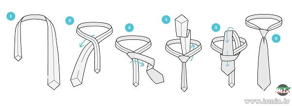 بستن کراوات در 18 ثانیه