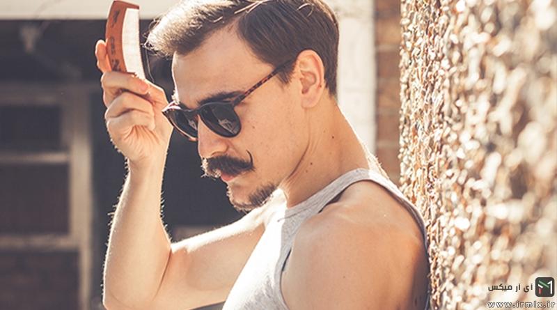 آموزش سشوار کشیدن، حالت دادن و درست کردن مو مردان