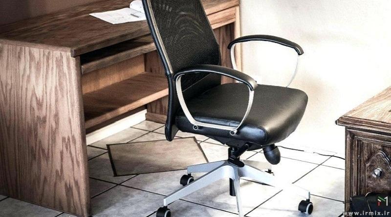 آموزش تصویری تعمیر صندلی اداری ، تعویض روکش و جک صندلی