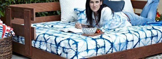 آموزش کامل و تصویری 2 روش ساخت تخت سنتی، باغی؛ قهوه خانه در منزل + ویدیو