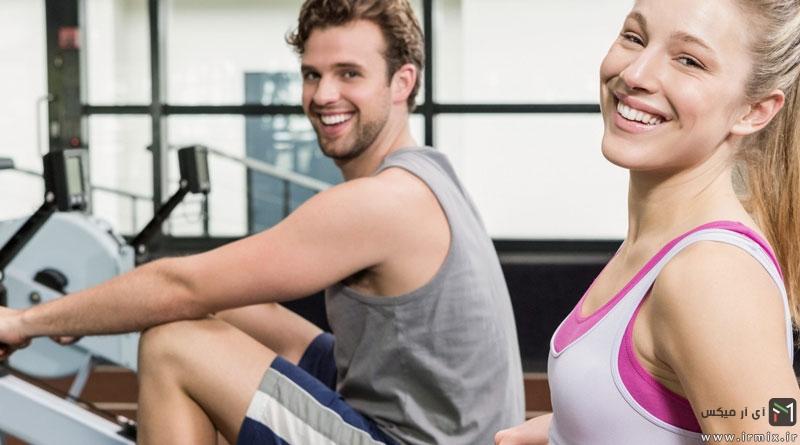 راه های  لاغر کردن بالاتنه ، کوچک کردن پشت کتف و شانه با ورزش های هوازی برای خانم ها و آقایان