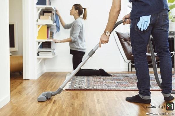 برنامه ریزی برای خانه تکانی