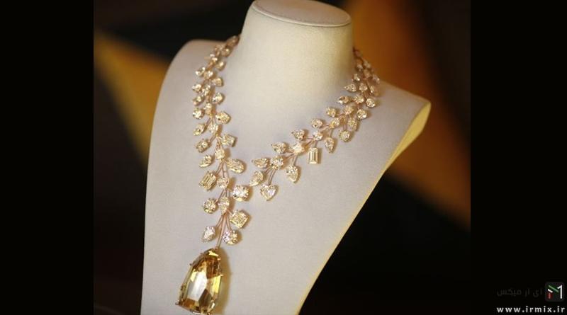 زیبا و گران ترین جواهرات دنیا