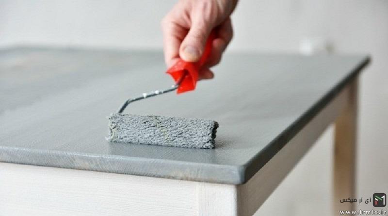 آموزش تصویری ۵ روش بازسازی وسایل چوبی و فلزی کهنه منزل