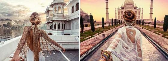 کمپین سلفی های خلاقانه زوج ها در اینستاگرام