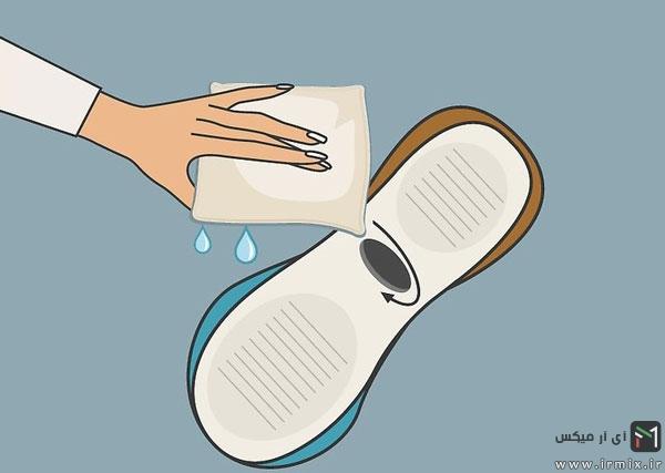 تعمیر کفش در خانه