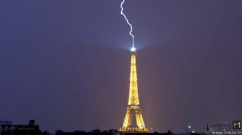 تصاویری جالب و دیدنی از برخورد صاعقه به آسمان خراش های معروف دنیا