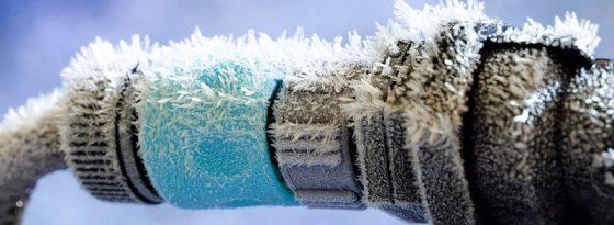 یخ زدگی لوله های آب