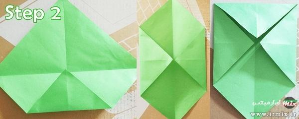 ساخت پاکت نامه بدون چسب