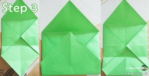 ساخت پاکت نامه اوریگامی