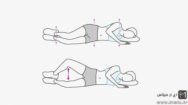 ورزش برای درمان درد پشت زانو