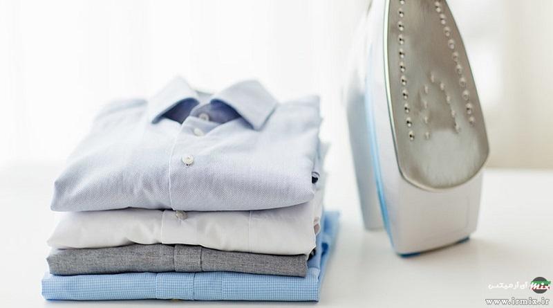 آموزش نحوه اتو زدن پیراهن مردانه با اتو پرس در خانه