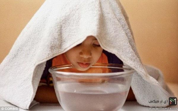 درمان آبریز بینی در کودکان