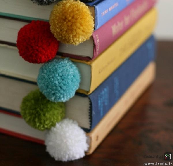 ساخت بوکمارک برای کتاب